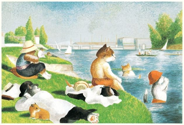 Cats Are Taking Over Famous Western Artworks And We're Definitely Not Mad About