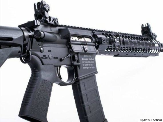 Florida Gun Seller Engraves AR-15 With Bible Verse To Stop It Being Picked Up By 'Muslim