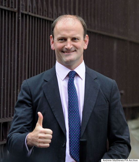 Douglas Carswell Is Not In the Good Books Of Ukip Chairman Steve Crowther After Leadership