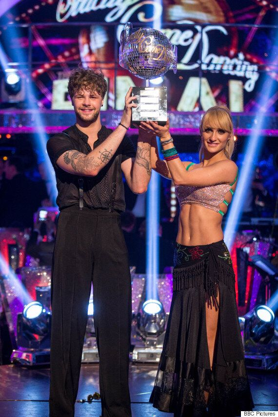 'Strictly Come Dancing': Jay McGuiness And Aliona Vilani Win The Glitterball Trophy, Despite Low Score...
