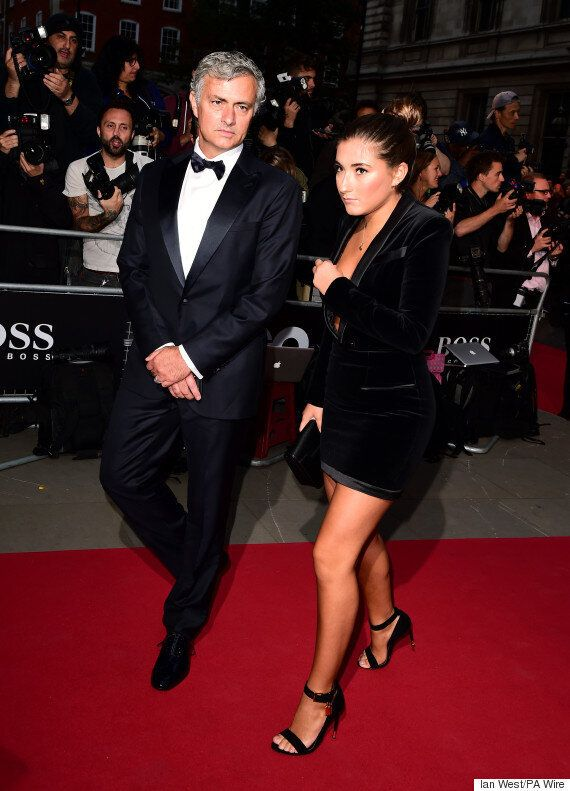 José Mourinho's Daughter Matilde Dazzles On GQ Men Of The Year Awards Red Carpet In Eye-Popping LBD