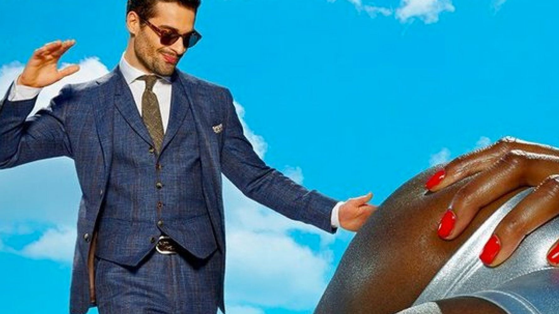 Menswear Adverts Featuring Half-Naked Women Are Actually