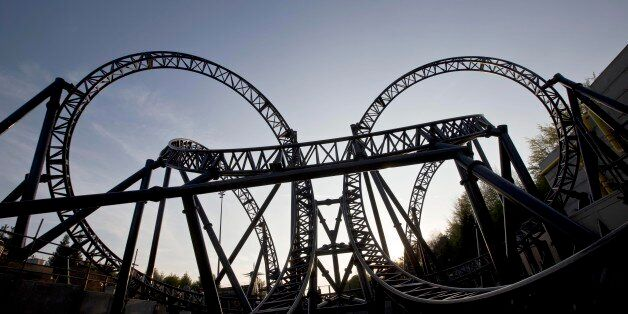 EDITORIAL USE ONLY File photo dated 09/05/13 of The Smiler ride at Alton Towers Resort in Staffordshire,...
