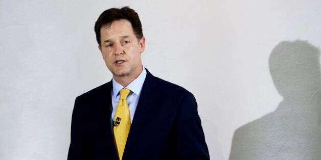 """Nick Clegg says the Conservatives are """"rigging the rules"""" in its favour that could lead to a"""