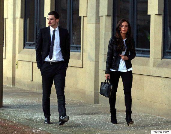 Adam Johnson: Footballer's Girlfriend Stacey Flounders Tells Court The Pair Have Split, But 'Remain