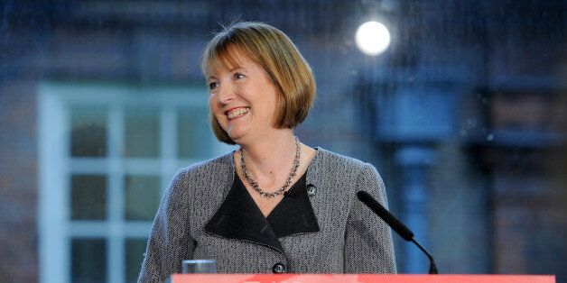 Deputy Labour leader Harriet Harman at Labour HQ in London, speaking about how Labour would move on from...