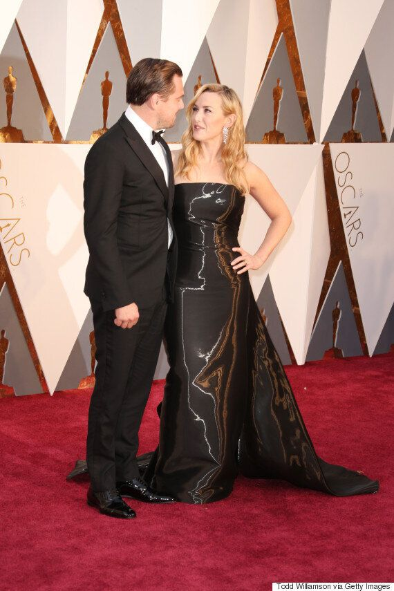 Oscars 2016: Kate Winslet Shimmered Like A Statuette At The Academy