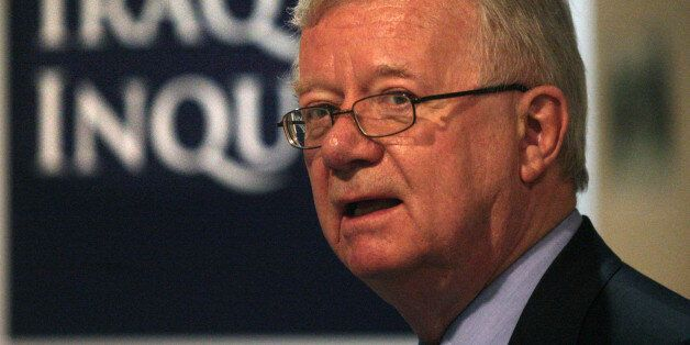 File photo dated 21/10/09 of Chairman of the Iraq Inquiry Sir John Chilcot. The long-awaited report of...