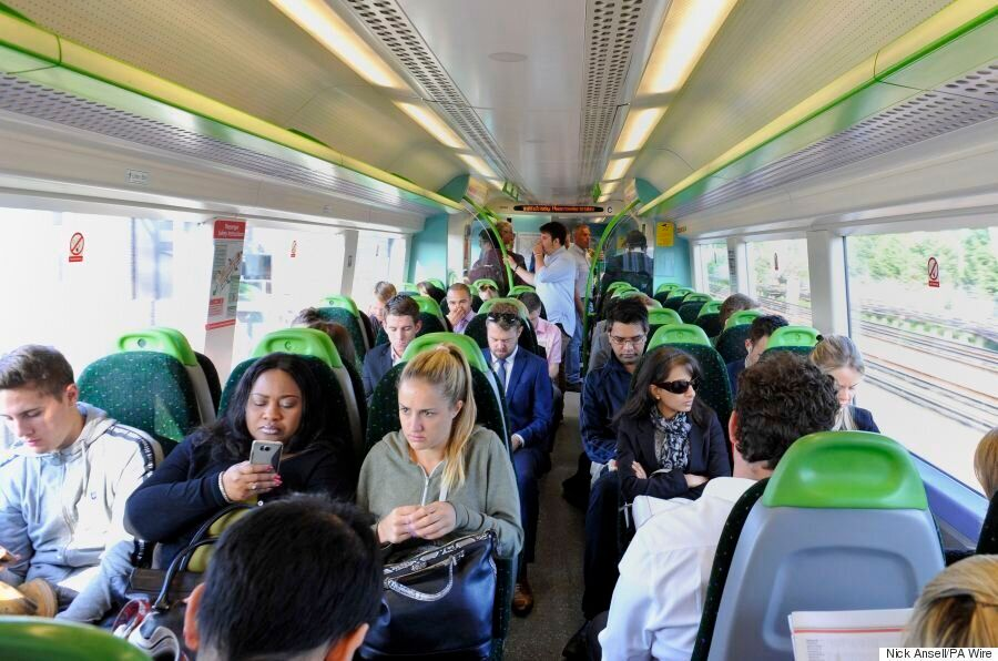 Department For Transport Rates England And Wales' Top Ten Most Overcrowded Trains For
