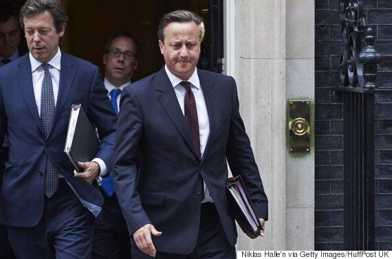David Cameron Sent Home From Parliament Over 'Inappropriate' New