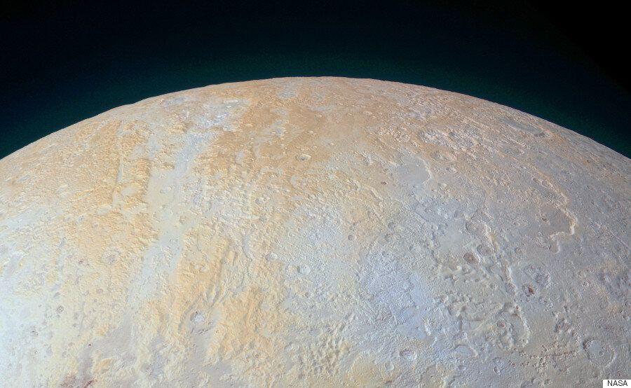 NASA's New Horizons Spacecraft Captures Frozen Canyons Of Pluto's North