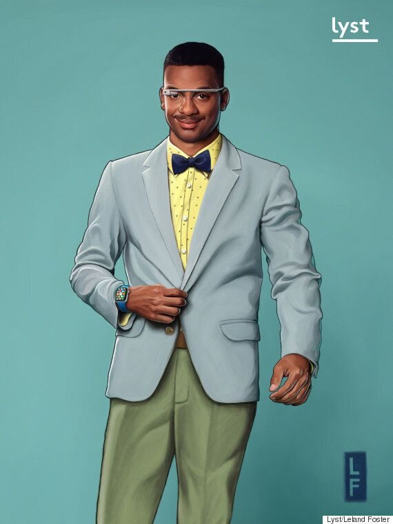Fresh Prince Of Bel Air Given A Fashion Revamp Via Current 90s-Inspired Fashion And It's