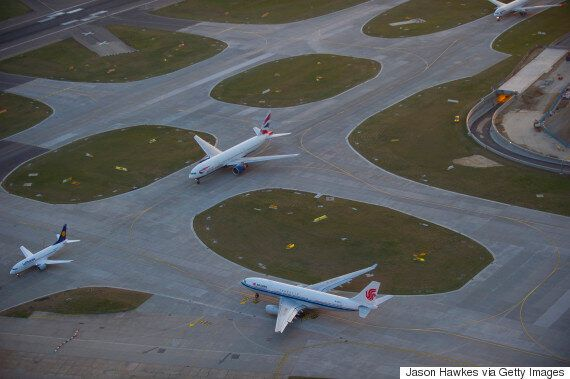 Drone Narrowly Misses Plane At Heathrow