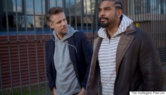 David Haye Talks To Richard Bacon About His Comeback, Acting, And Being '30