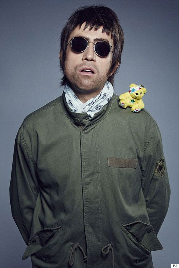 Nick Grimshaw Is Unrecognisable As Liam Gallagher As Children In Need Presenters Dress Up As Childhood...