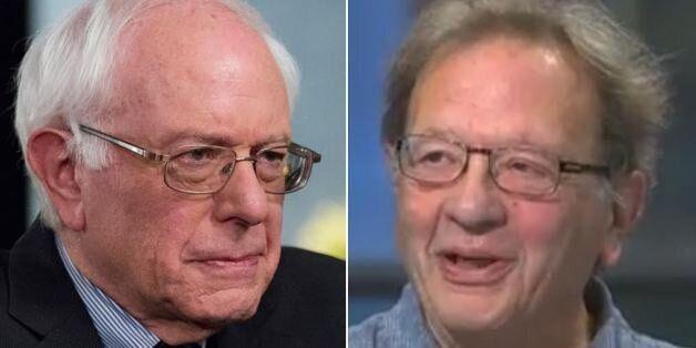 US presidential hopeful Bernie Sanders, left, and his brother