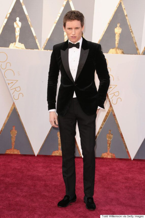 Oscars 2016: Eddie Redmayne Schooled Us In The Art Of Black Tie Dressing At The Academy