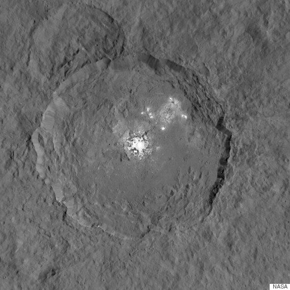 NASA Shows Ceres' 'Mystery' Bright Spots In Stunning