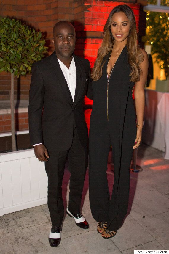 Amanda Holden Brings The Glamour At Simon Cowell's Summer Party, With Caroline Flack, Alesha Dixon, Nick...