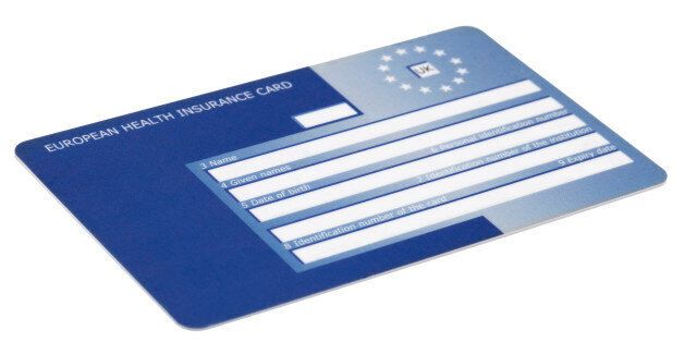 European Health Insurance Card provides health cover when travelling in the European
