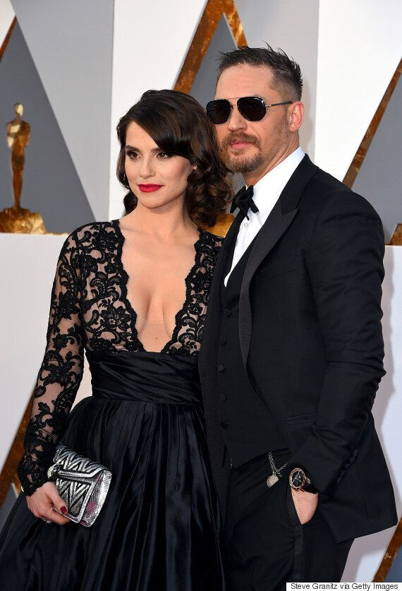 Oscars 2016: Tom Hardy Has Us In Full Swoon As He Hits Academy Awards Red Carpet