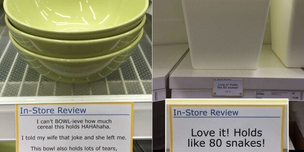 Hilarious Fake Product Reviews Pop Up In IKEA Courtesy Of Obvious