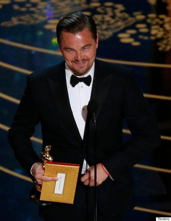 Oscars 2016: Leonardo DiCaprio Wins Best Actor Oscar For 'The Revenant' On His Sixth