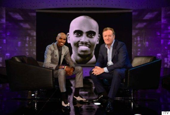 Piers Morgan Presses Mo Farah On Drugs In Athletics, For Interview On 'Piers Morgan's Life