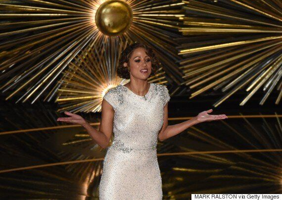 Oscars 2016: Stacey Dash Makes Awkward Appearance As Her Joke About Diversity Falls