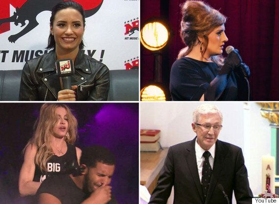 Demi Lovato And Her Mugs, Adele Turns Adele Impersonator And 18 More Memorable Viral Celeb Videos Of