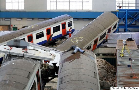 London Tube Station Carnage After Tower Block Collapse Simulated For Major 'Unified Response' Training