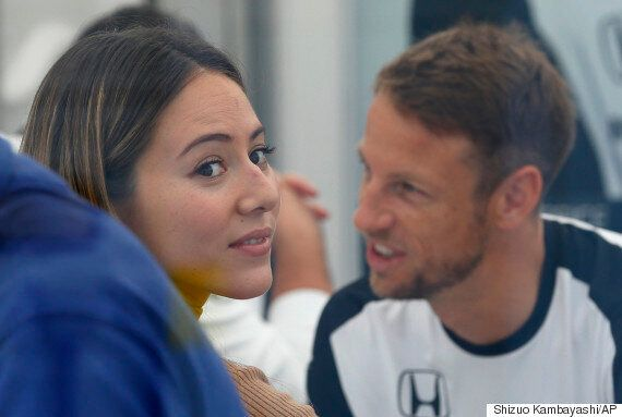 Jenson Button And Jessica Michibata Split: Formula One Star And Underwear Model Wife Go Their Separate...
