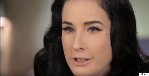 Dita Von Teese Lipstick Tutorial: The Burlesque Performer's 3 Signature Red Lip