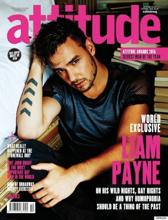 Liam Payne's Attitude Magazine Cover Divides Fans Over Lack Of