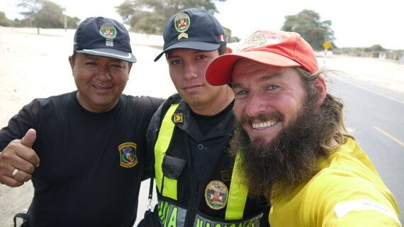 Running 212km Through the Sechura Desert in Four