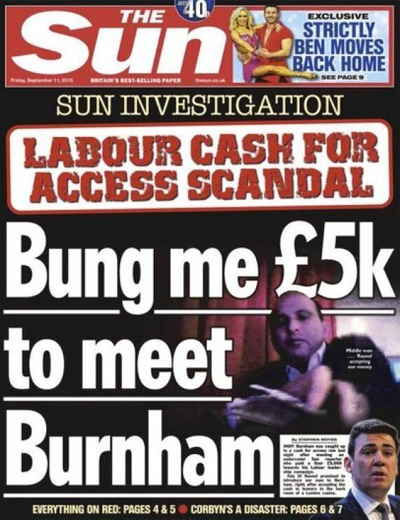 Andy Burnham To Report The Sun To Regulator Ipso After Cash For Access