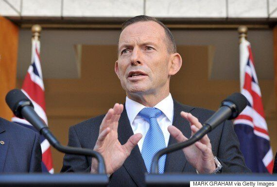 Tony Abbott Caught Laughing About Rising Sea Levels With Peter