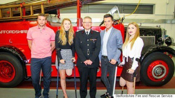 Alton Towers Smiler Crash Victims Thank Fire Crews For Saving Their