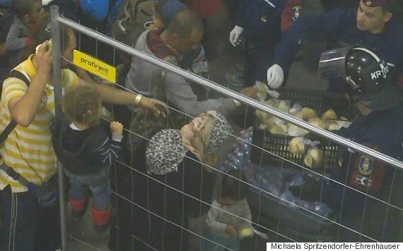 Refugee Crisis: People Being Fed 'Like Animals In Pen' In Hungary's Roszke