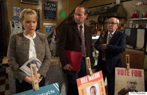'Coronation Street' Spoiler: Sally Webster's Political Campaign Hits A (Norris-Shaped)
