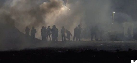 Calais Jungle Braced For A Second Round Of Demolition As Fights Between Police And Migrants Break