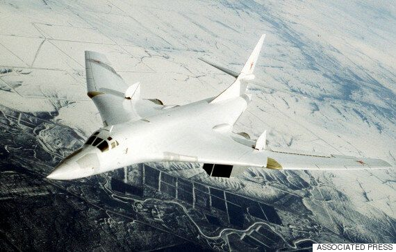 RAF Typhoon Jets Intercept Two Russian 'Blackjack' Aircraft That Strayed Near To UK