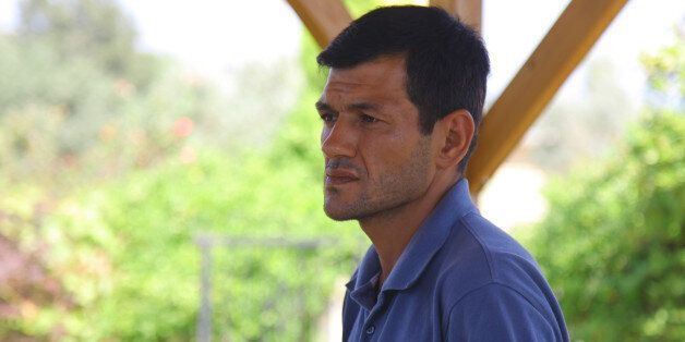 Abdullah Kurdi, 40, father of Syrian boys Aylan, 3, and Galip, 5, who were washed up drowned on a beach...