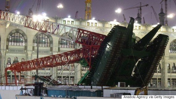 Mecca Grand Mosque Crane Collapse Leaves Scores Dead, Hundreds