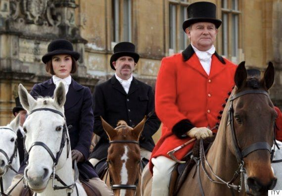 'Downton Abbey' Stars Searched For Souvenirs After Final Episode Shooting At Highclere
