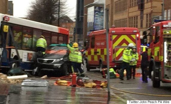Costa Coffee Crash: Five Injured And One Dead After Audi Crashes Into Kent Shop Packed With Customers...