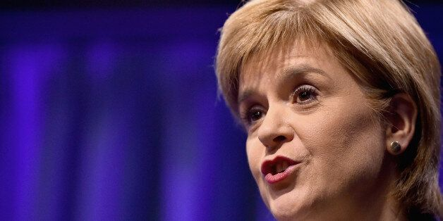 First Minister Nicola Sturgeon hosts a humanitarian summit at St Andrew's House in Edinburgh, where she...
