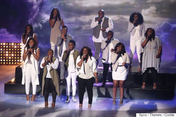 We Day 2016: Fleur East And 'Britain's Got Talent' Stars Revelation Avenue Join Rita Ora On The