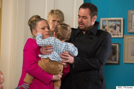 'EastEnders' Spoiler: Mick Carter Loses His Temper As Lee And Nancy Leave Baby Ollie In