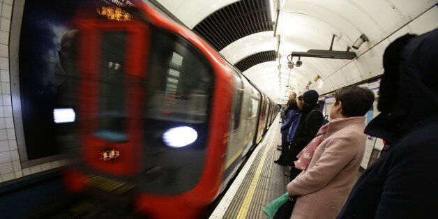 File photo dated 06/02/14 of a London Underground train as union leaders are to meet to discuss calling...